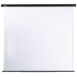 reflecta Spring rollo screen 125x125 cm with stop mechanism