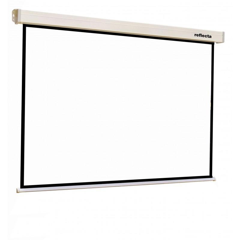 reflecta CrystalLine Rollo Softlift 160x160 cm 1:1