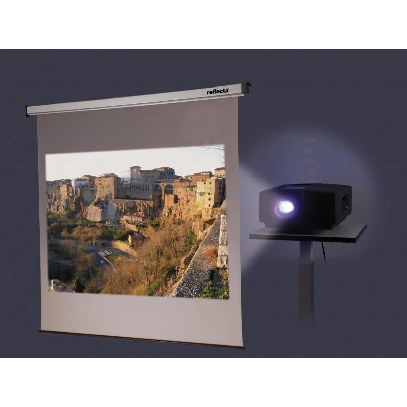 reflecta Rollo SilverLine 200x210 cm 1:1 Rückprojektion