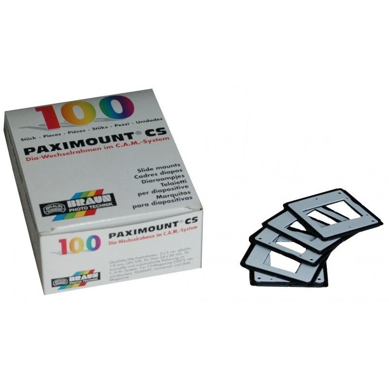 PAXIMOUNT CS2-Slide mounts 100 pcs
