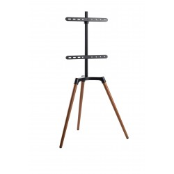 reflecta TV Stand Elegant 65W black / walnut