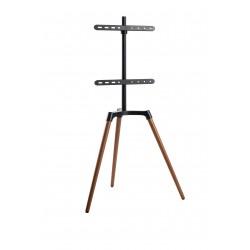 reflecta TV Stand Elegant 65W schwarz / Walnuss