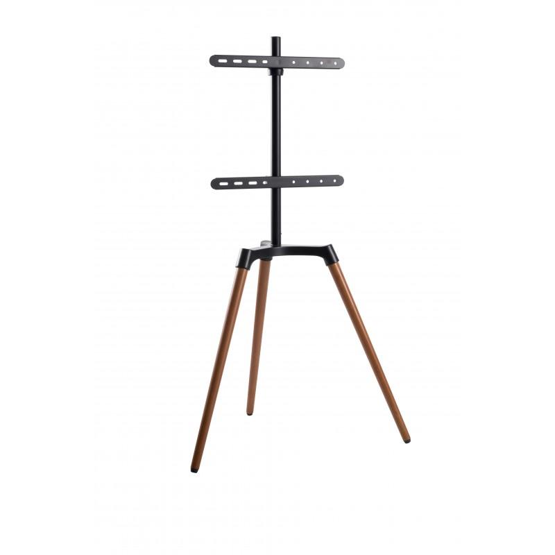 reflecta TV Stand Elegant 65W black / walnut