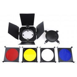 Barn Door Kit  with filters for VisiLux Kits...