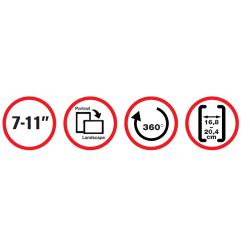reflecta Tabula Car WS Universal Tablet Halter