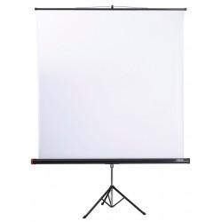 Tripod screen AlphaLux 180x180 cm